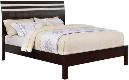 Furniture of America CM7205EKBED Euclid Series  Eastern King Size Bed