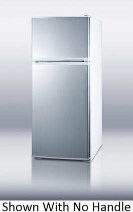 Summit FF882WSSTB Freestanding Top Freezer Refrigerator with 8.86 cu. ft. Total Capacity 3 Wire Shelves