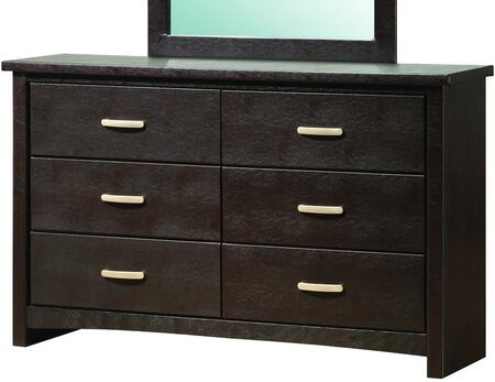 Glory Furniture G1800D  Wood Dresser