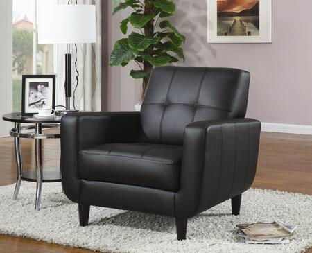 Coaster 900204  Leather Like Vinyl Accent Chair