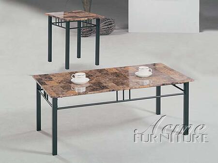 "Acme Furniture 06783 42"" Contemporary Living Room Table Set"