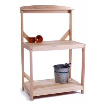 All Things Cedar PT35X Red Cedar Potting Table