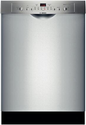 "Bosch SHE3AR75UC 24"" Ascenta Series Built In Full Console Dishwasher"