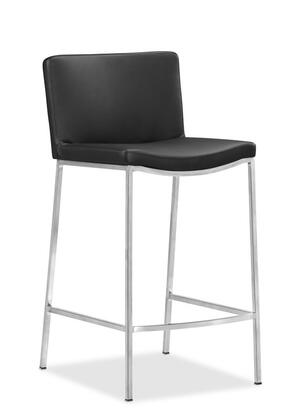Zuo 300094 Curve Series Residential Bar Stool