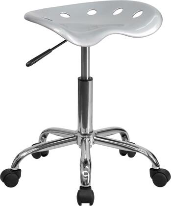 """Flash Furniture LF214ASILVERGG 17"""" Contemporary Office Chair"""