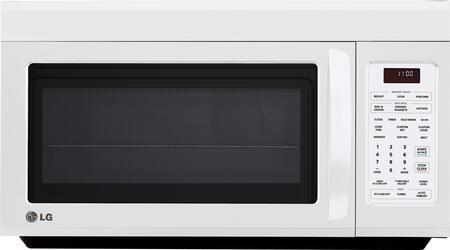 LG LMV1813SW 1.8 cu. ft. Capacity Over the Range Microwave Oven |Appliances Connection