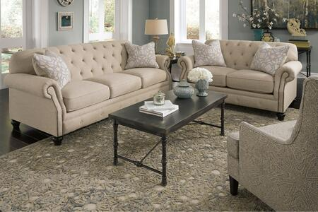 Milo Italia MI3426SLAC21NATU Saniya Living Room Sets