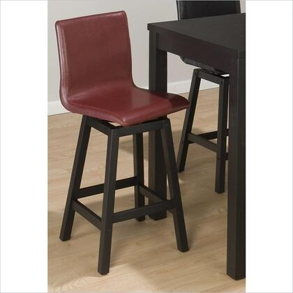 Jofran 960BSS482KD Residential Faux Leather Upholstered Bar Stool