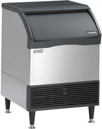 """Scotsman CU2026xx 26"""" Self-Contained Ice Machine with AutoAlert Control Panel, Prodigy Undercounter Cubers, Front Removable Air Filter and Ice Scoop"""