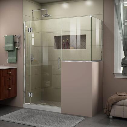 DreamLine Unidoor X Shower Enclosure 6HP 30D 24BP 30RP 01