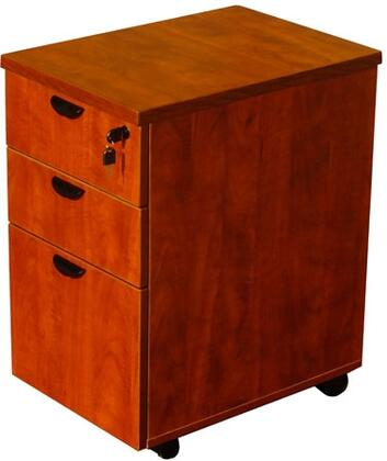 """Boss N148H 28"""" Mobile Pedestal Box/ Box/ File with Honey Comb Packing"""