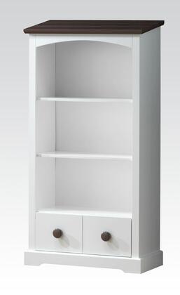 Acme Furniture 30227 Docila Series Wood 2 Shelves Bookcase