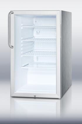 Summit SCR450LCSS Built In All Refrigerator
