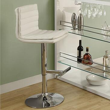 Monarch I2355 Residential Faux Leather Upholstered Bar Stool