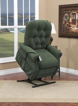 MedLift 2555AAH Contemporary Fabric Wood Frame  Recliners