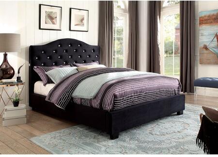 Furniture of America CM7421BKEKBED Betelgeuse Series  King Size Platform Bed
