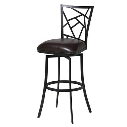 Pastel Furniture QLHD2193 Homestead 26 in. Counter Height Swivel Barstool