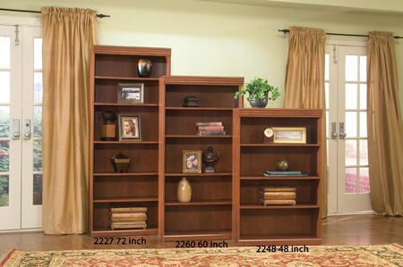 Harden 2260  Wood 5 Shelves Bookcase