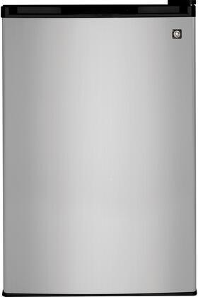 GE WML04GADBS  Freestanding Counter Depth Compact Refrigerator with 4.4 cu. ft. Capacity, 3 Glass ShelvesField Reversible Doors