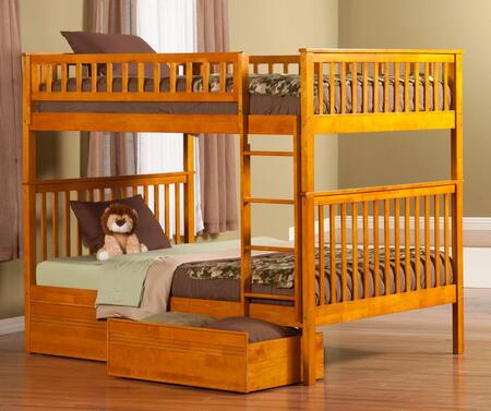 Atlantic Furniture AB56517  Full Size Bunk Bed