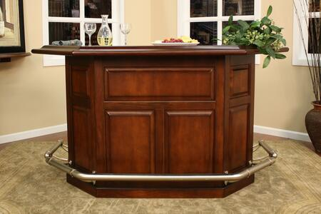 "American Heritage 600029SDS Augusta Series 76"" Home Bar,"