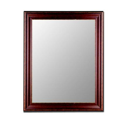Hitchcock Butterfield 20210X Cameo Bavarian Mirror in Walnut Gold