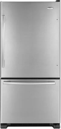 Whirlpool GB2FHDXWD  Bottom Freezer Refrigerator with 21.9 cu. ft. Total Capacity 6.3 cu. ft. Freezer Capacity 5 Glass Shelves  |Appliances Connection