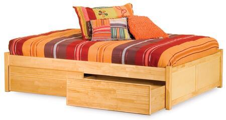 Atlantic Furniture CONFPBLCFL  Full Size Storage Bed
