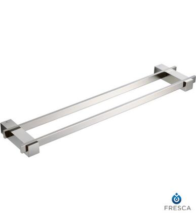 "Fresca FAC1439 Ellite 20"" Double Towel Bar with Heavy Duty Brass in"
