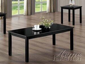 Acme Furniture 02153 Contemporary Living Room Table Set
