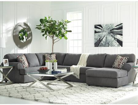 Flash Furniture FSD6499SEC3LAFSSTLGG Jayceon Series Stationary Fabric Sofa