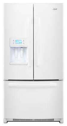 Whirlpool GI7FVCXXQ  Counter Depth French Door Refrigerator with 26.6 cu. ft. Total Capacity 4 Glass Shelves