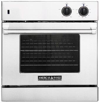 American Range AROSG30LPBR Single Wall Oven, in Red