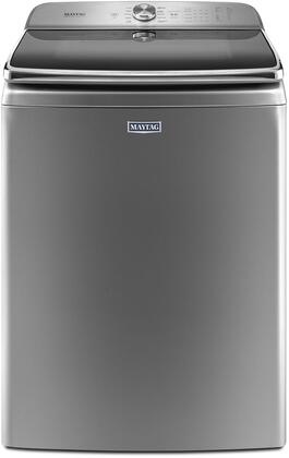 """Maytag MVWB955Fx 30"""" Top Load Washer with 6.2 cu. ft. Capacity, PowerWash Cycle, PowerSpray, Optimal Dispensers, Internal Heater and Power Impeller, in"""