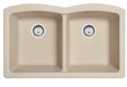 Franke ELG120 Ellipse Series Undermount Double Bowl Granite Sink in