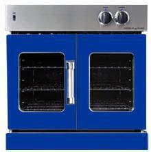 American Range AROFG30BU Single Wall Oven, in Sapphire Blue