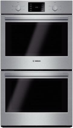 "Bosch HBL5551UC 30"" Stainless Steel Double Wall Oven"