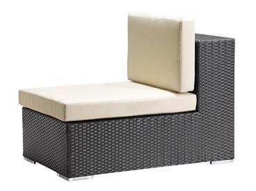 Zuo 701003 Cartagena Series  in Espresso Weave, Beige Cushion |Appliances Connection