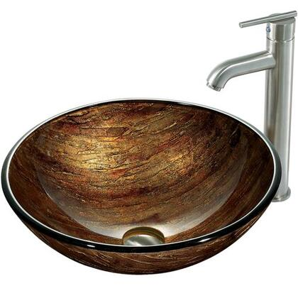 Vigo VGT163 Brushed Nickel Bath Sink