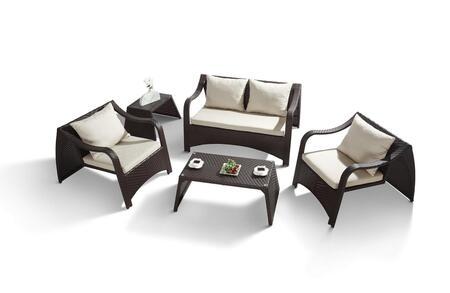 VIG Furniture VGHTH28S Modern Patio Sets