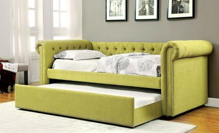 Furniture of America CM1027GRBED Leanna Series  Twin Size Daybed Bed
