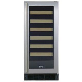 "Marvel 3SWCEWWGR 14.88"" Built-In Wine Cooler, in White Frame Glass Door"