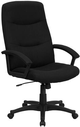 """Flash Furniture BT134ABKGG 26.25"""" Tradtitional Office Chair"""