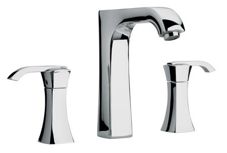 Picture of 11102 Chrome Two Lever Handle Roman Tub Faucet With Arched