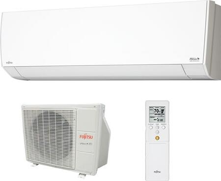 Fujitsu RLF1 Single Zone Mini Split System with Wireless Remote, Quiet Operation, 230 Volts, in White