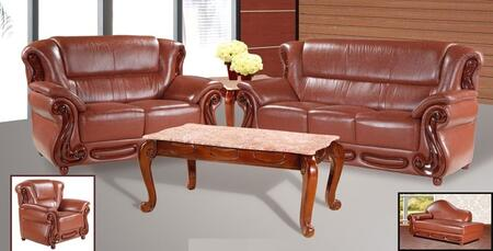 Meridian 632BRSLCCH Bella Living Room Sets