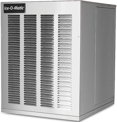 Ice-O-Matic GEM0450 Pearl Ice Maker with  Condensing Unit SystemSafe, Water Sensor, Evaporator, Industrial-Grade Roller Bearings and Heavy-Duty Gear Box in Stainless Steel Finish