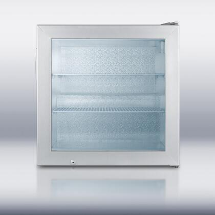 "Summit SCFU38624"" Freestanding Upright Freezer"