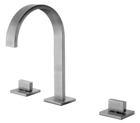 Alfi AB1336-X Widespread Bathroom Faucet with Brass, Valve, Double Knob Control, UPC Certified, Sleek & Elegant Gooseneck Spout Design and 5 Year Warranty in