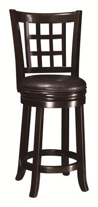Coaster 102649 Dining Chairs and Bar Stools Series Residential Vinyl Upholstered Bar Stool